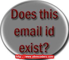 Email id exists or not