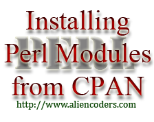 Installing Perl modules from CPAN