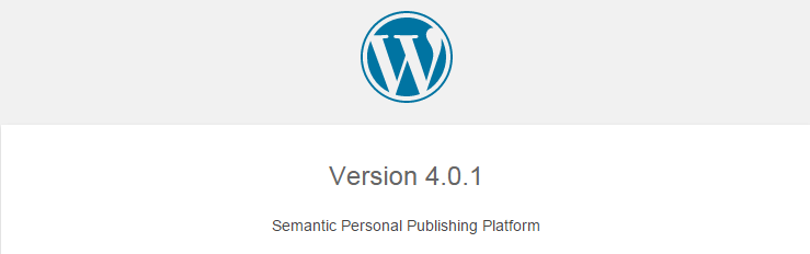 Know WordPress version using readme file