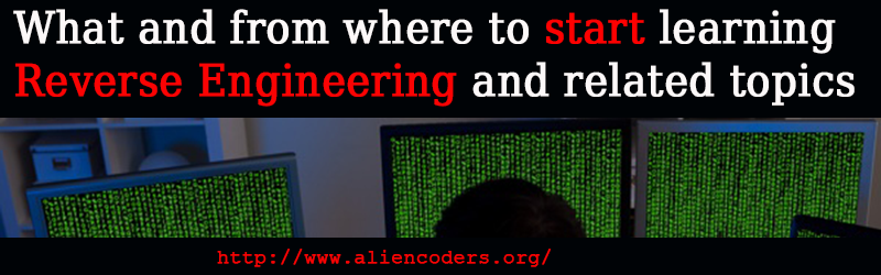 what and from where to learn reverse engineering