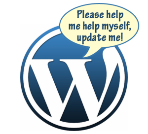 Time to update WordPress