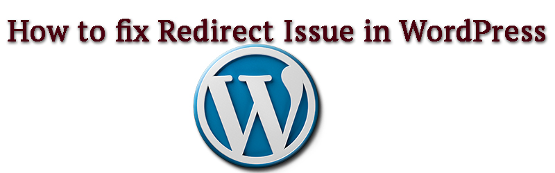 How to fix redirect issue in WordPress