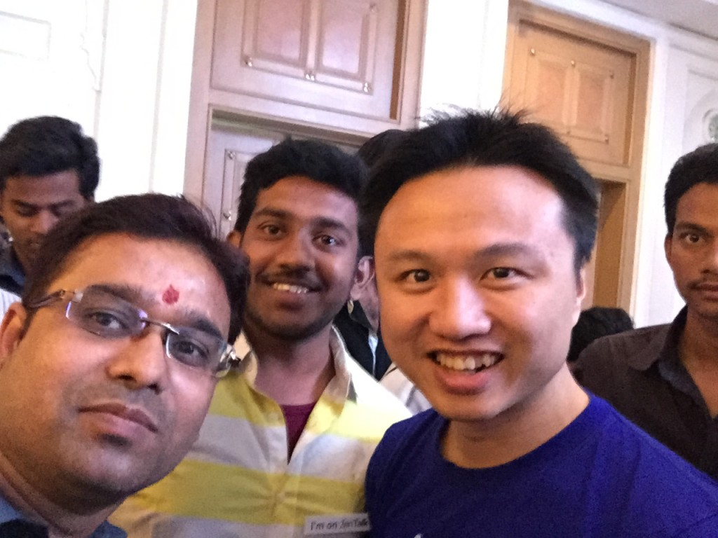 Selfie with Peter Chang Asus MD