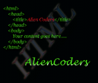 HTML Logo by AlienCoders